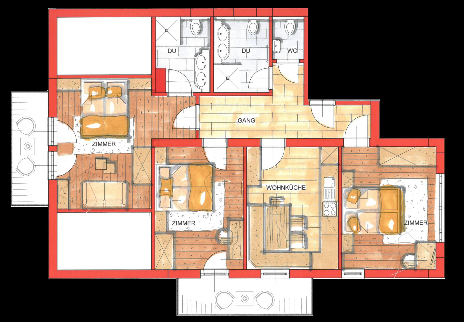 Ferienwohnungen & Preise   Alpinium in Fiss   Premium-Apartments